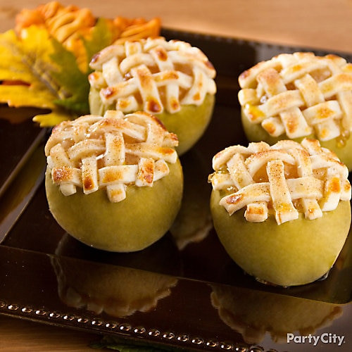 Thanksgiving Themed Appetizers  Personal Apple Pies Idea Thanksgiving Appetizer