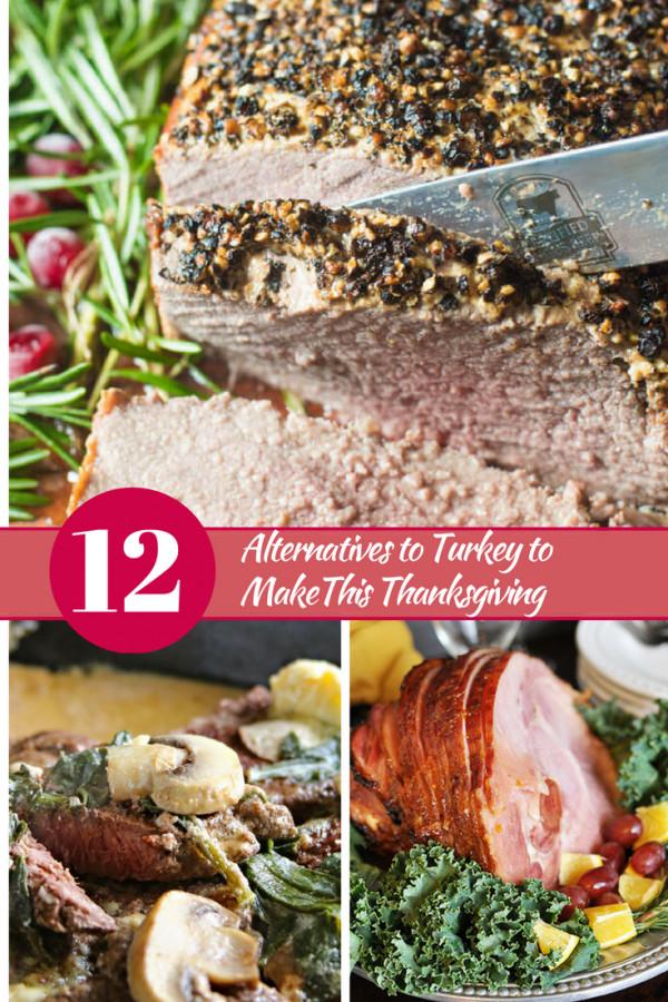 Thanksgiving Turkey Alternatives  12 Alternatives to Turkey to make this Thanksgiving