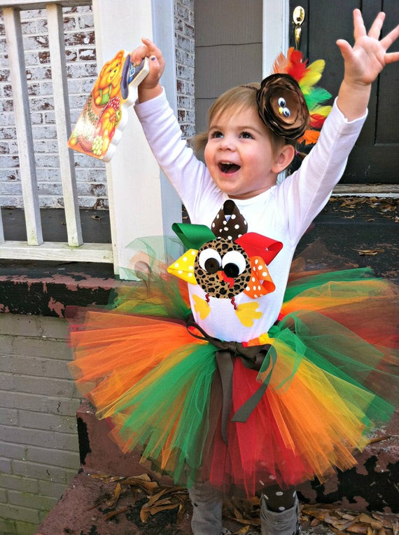 Thanksgiving Turkey Costume  Items similar to Tutus Thanksgiving tutu turkey onesie