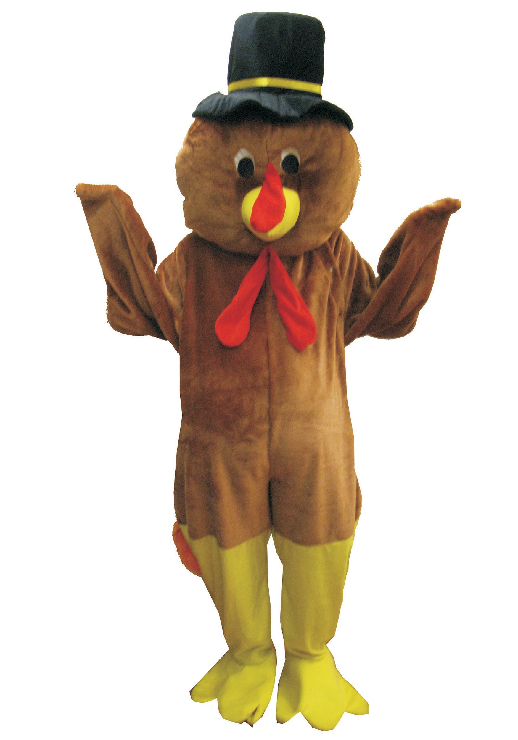 Thanksgiving Turkey Costume  Mascot Thanksgiving Turkey Costume
