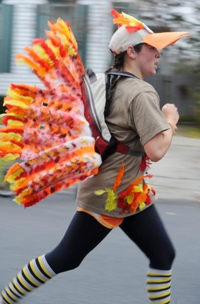 Thanksgiving Turkey Costume  Turkey Trot Costumes Peanut Butter Fingers