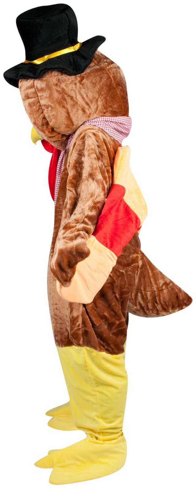 Thanksgiving Turkey Costume  PartyBell Thanksgiving Turkey Adult Mascot Costume