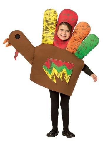 Thanksgiving Turkey Costume  Hand Turkey Costume for Kids