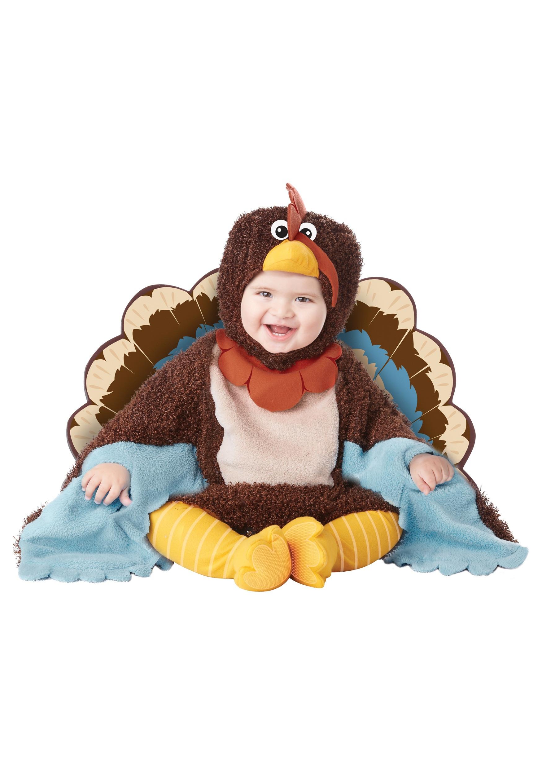 Thanksgiving Turkey Costume  Infant Gobble Gobble Turkey Costume