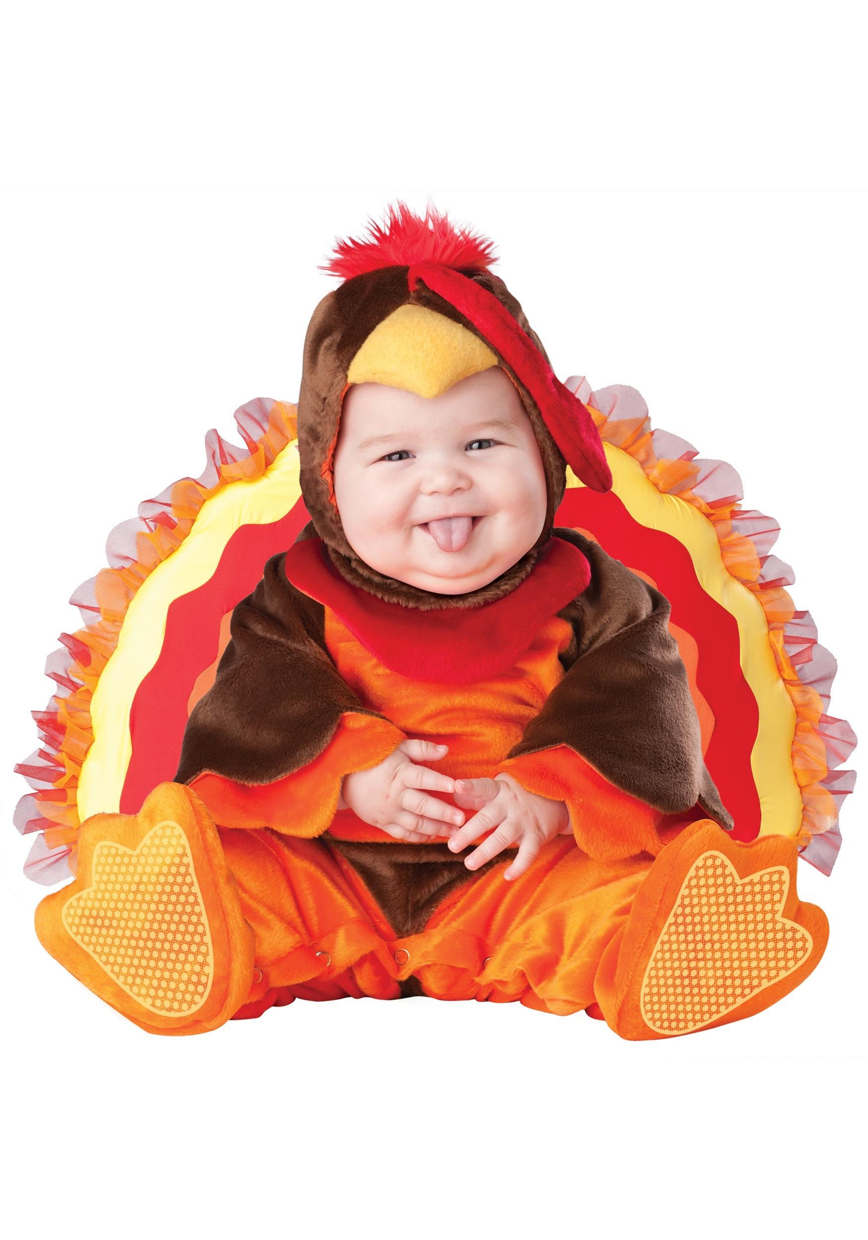 Thanksgiving Turkey Costume  Infant Turkey Costume