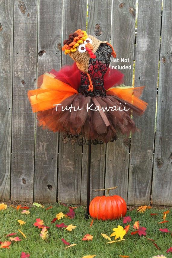Thanksgiving Turkey Costume  Items similar to Turkey Infant Baby Tutu ORIGINAL