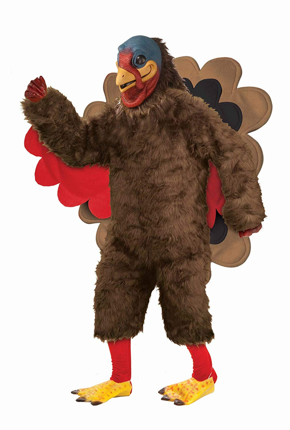 Thanksgiving Turkey Costume  Funny Adult Turkey Costumes For Thanksgiving Creative