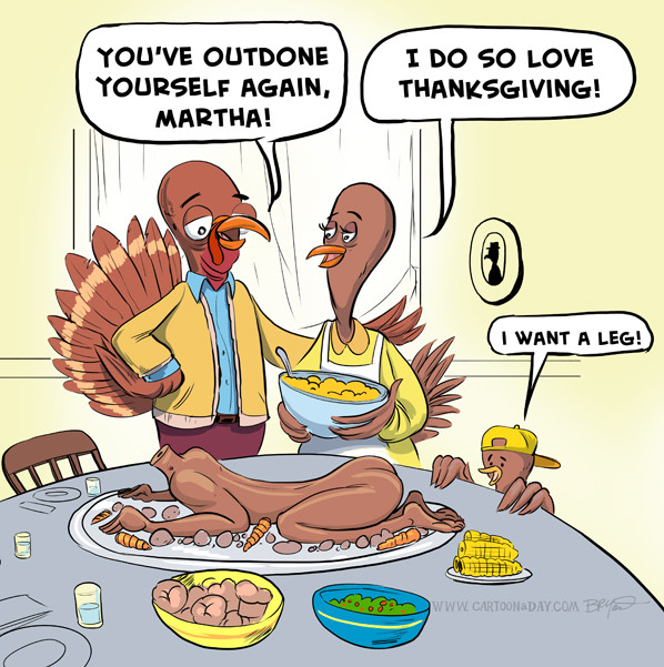 Thanksgiving Turkey Funny  Thanksgiving Turkey Dinner Cartoon Cartoon