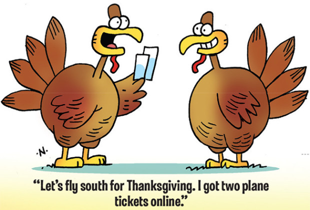 Thanksgiving Turkey Funny  38 Funny Thanksgiving Day Jokes and ics – Boys Life