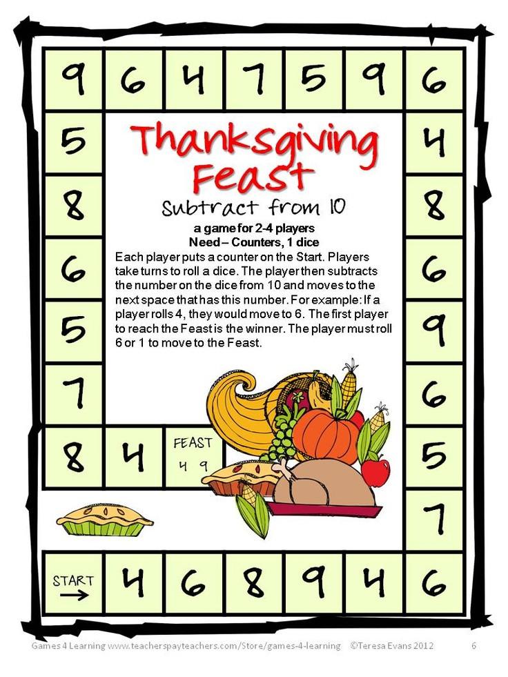 Thanksgiving Turkey Games  Pinterest • The world's catalog of ideas