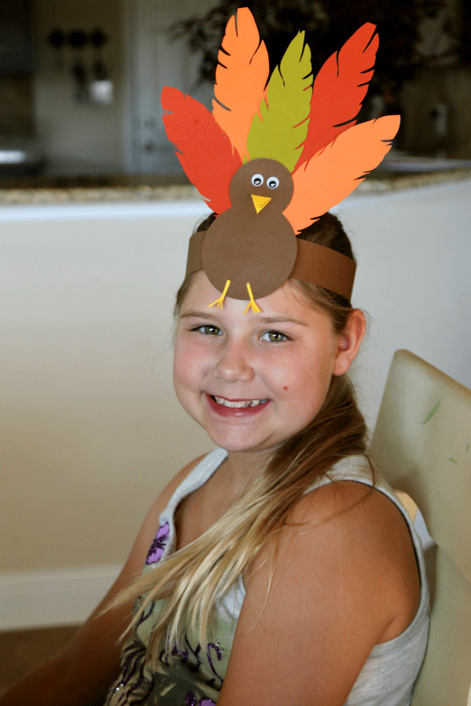 Thanksgiving Turkey Hat  Thanksgiving Ideas for Kids