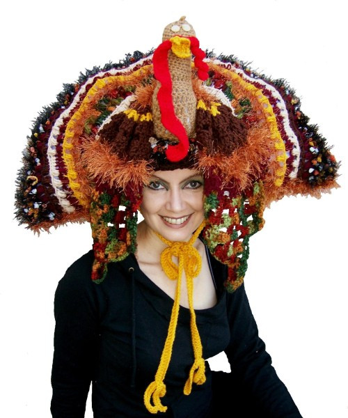 Thanksgiving Turkey Hat  Haiku Wednesday Funny Hats