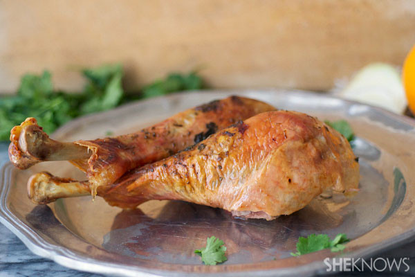 Thanksgiving Turkey Legs  Herb roasted turkey legs