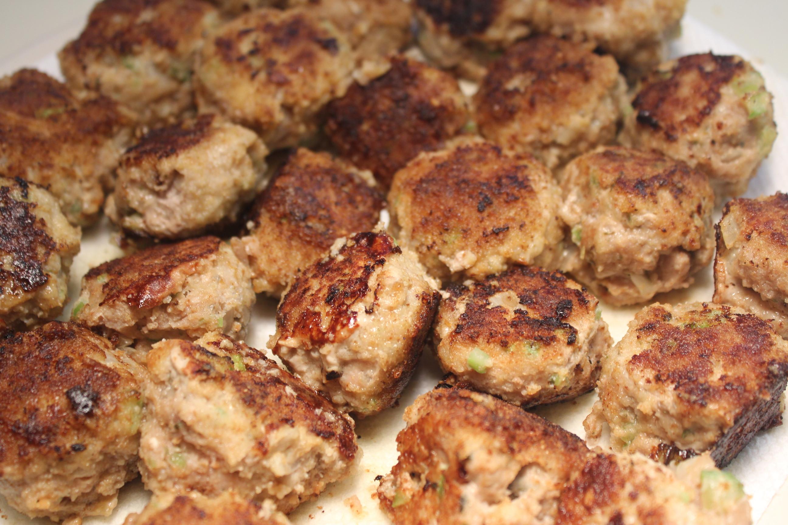 Thanksgiving Turkey Meatballs  Kel's Homemade Italian Pizza with Turkey Meatballs