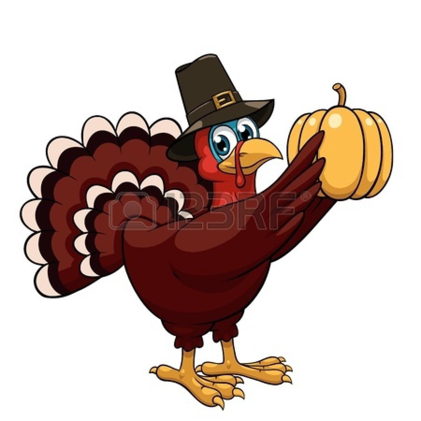 Thanksgiving Turkey Pictures Clip Art  Happy Thanksgiving Turkey Clipart Black And White