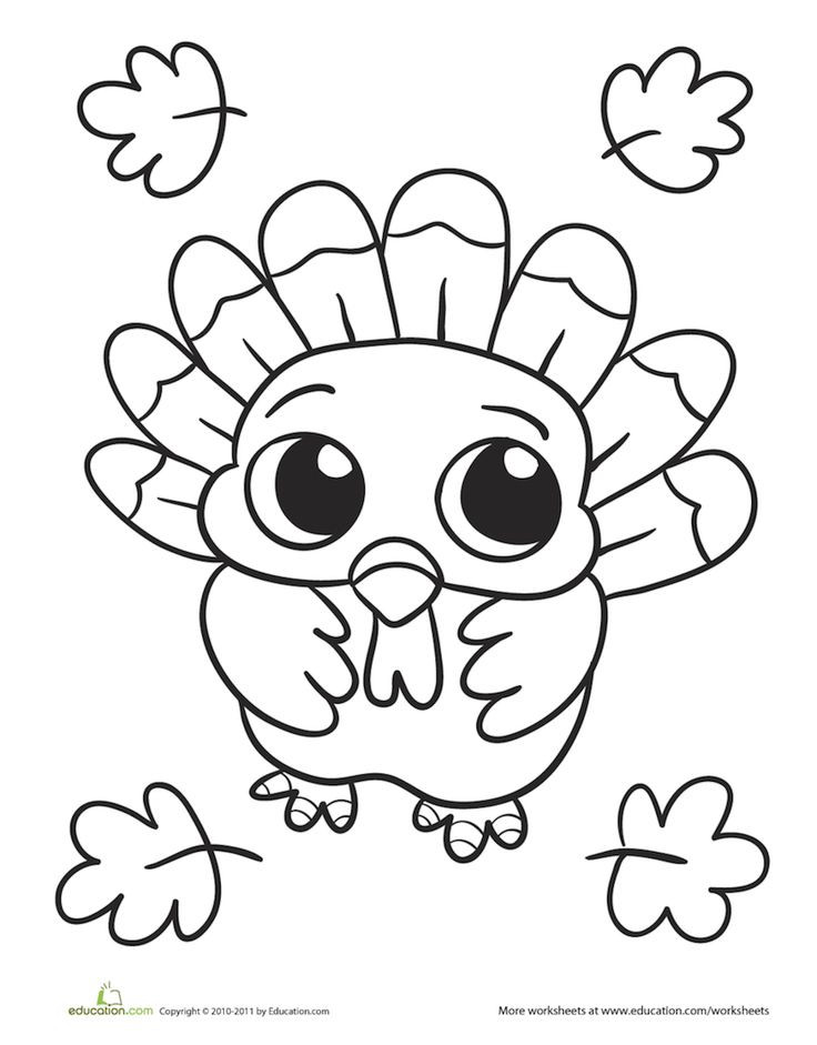 Thanksgiving Turkey Pictures To Color  Best 25 Thanksgiving coloring pages ideas on Pinterest