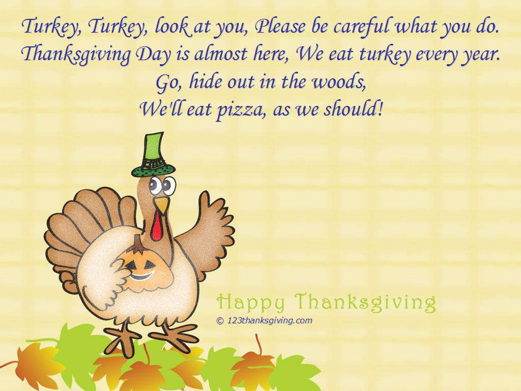 Thanksgiving Turkey Poem  Thanksgiving Quotes For Co Workers QuotesGram