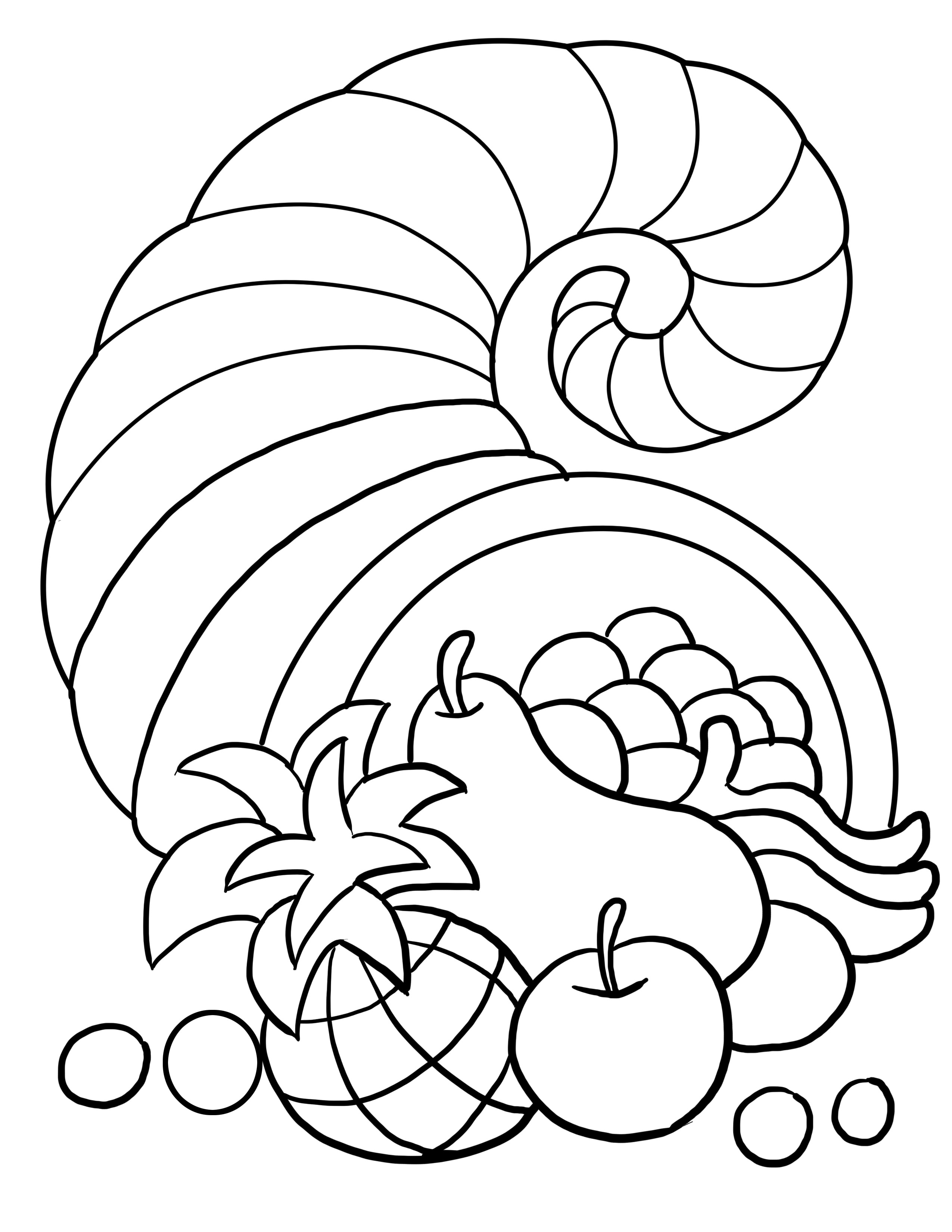 Thanksgiving Turkey To Color  Thanksgiving Coloring Pages