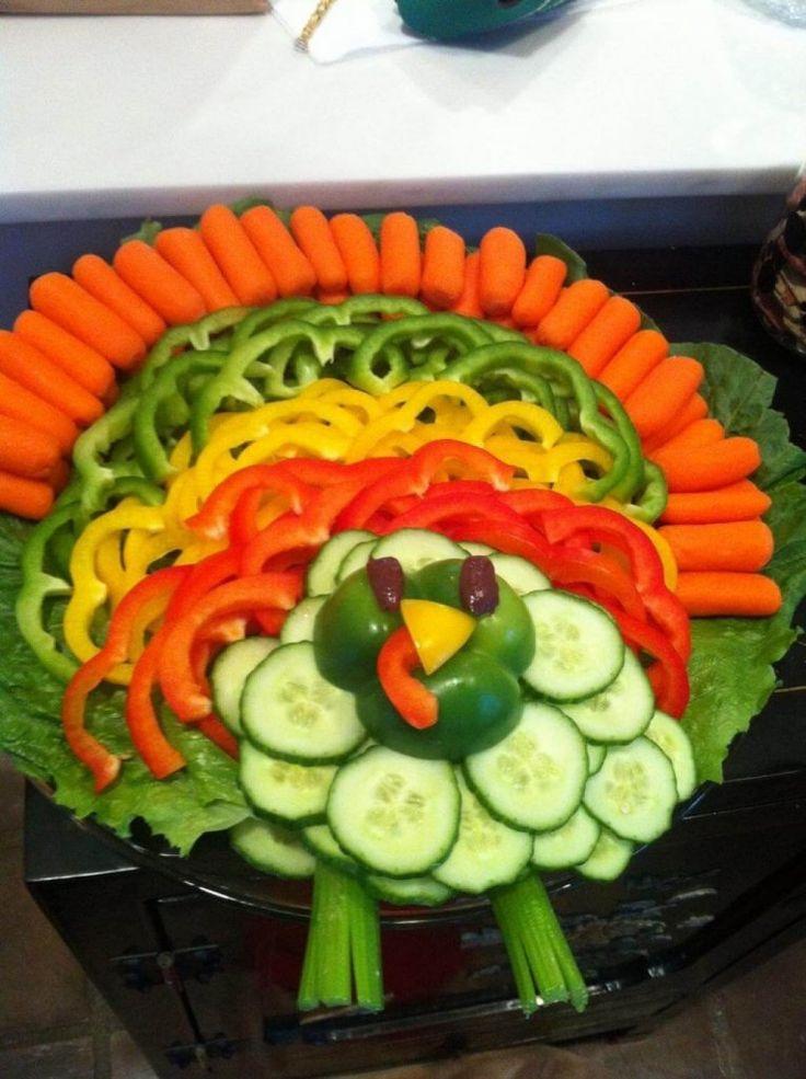 Thanksgiving Turkey Veggie Tray  Best 25 Relish trays ideas on Pinterest