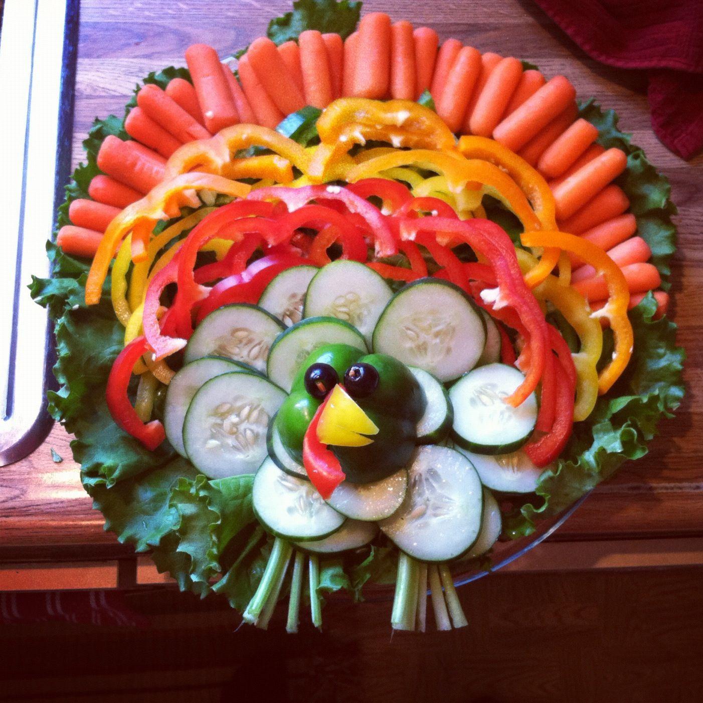 Thanksgiving Turkey Veggie Tray  1000 ideas about Turkey Veggie Platter on Pinterest