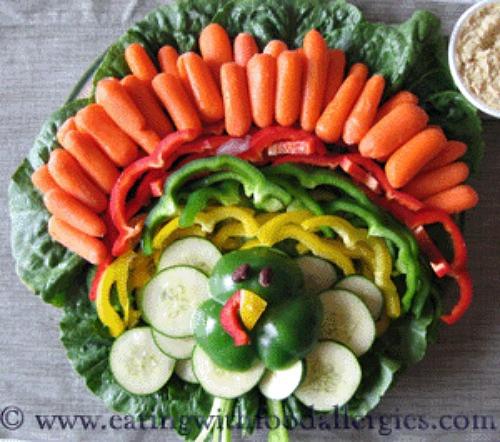 Thanksgiving Turkey Veggie Tray  12 Leftover Veggie Tray Recipes Recipe