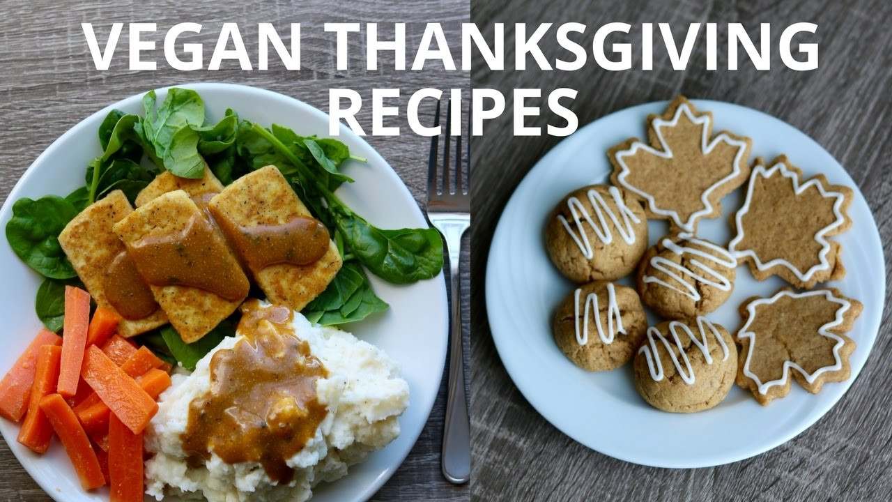 Thanksgiving Vegan Recipes  Easy Vegan Thanksgiving Recipes