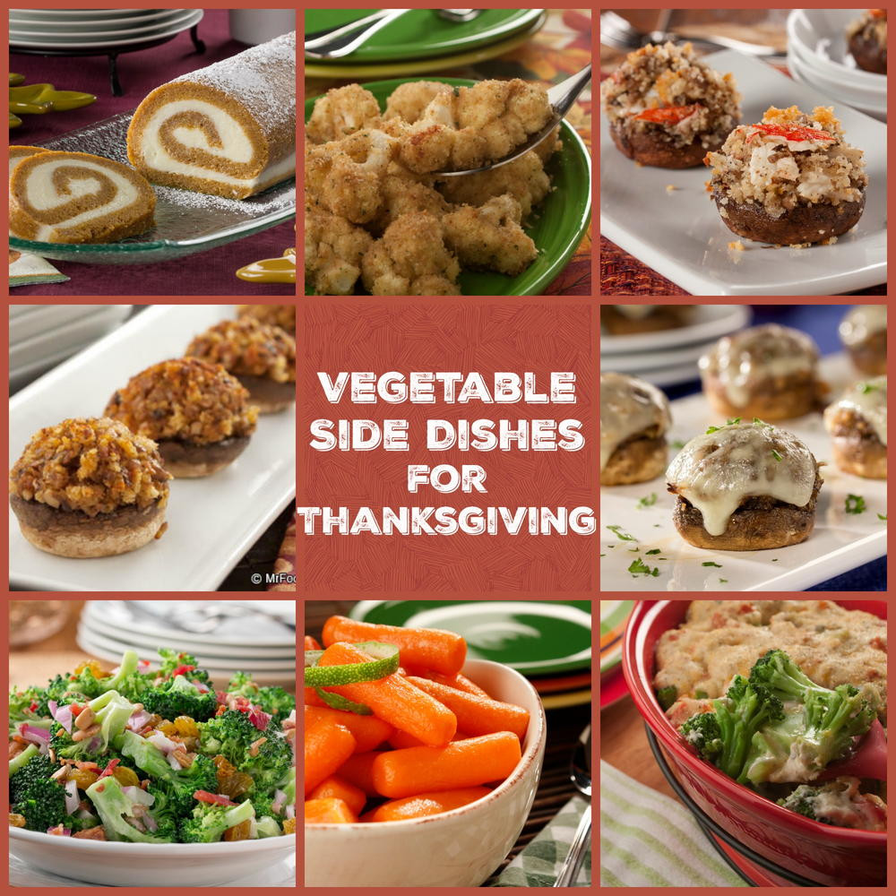 Thanksgiving Vegetable Recipes Side Dishes  100 Ve able Side Dishes for Thanksgiving