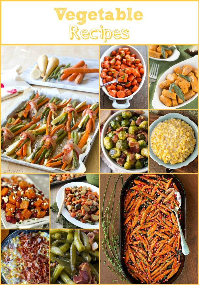 Thanksgiving Vegetable Recipes Side Dishes  Everything But The Turkey Part 2