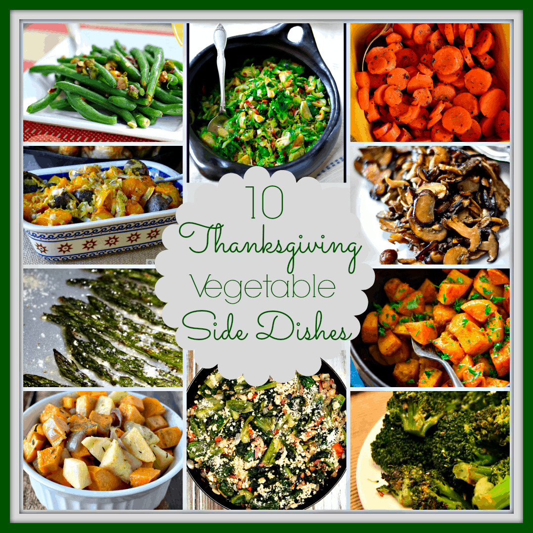 Thanksgiving Vegetable Recipes Side Dishes  10 Ve able Side Dishes for Thanksgiving Upstate Ramblings