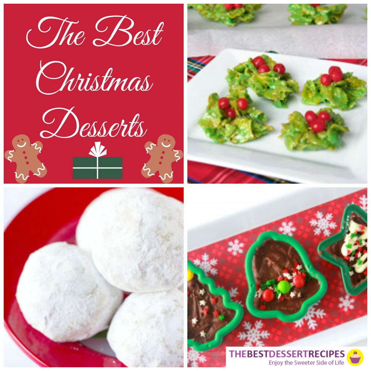 The Best Christmas Desserts  The Best Christmas Desserts 75 Recipes for Christmas