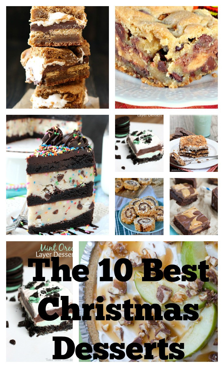 The Best Christmas Desserts  The 10 Best Christmas Desserts great for any holidays