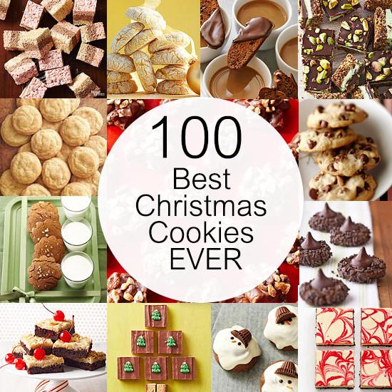 Top Christmas Cookies  100 Best Christmas Cookies EVER