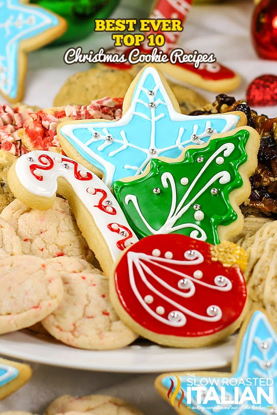Top Christmas Cookies  Best Ever Top 10 Christmas Cookie Recipes