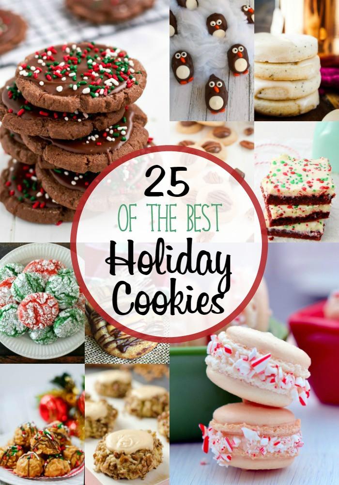 Top Christmas Cookies  Frugal Foo Mama 25 of The Best Holiday Cookies