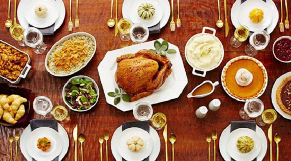 Traditional American Thanksgiving Dinner  Traditional Thanksgiving Meals with a Healthy Twist