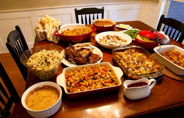 Traditional American Thanksgiving Dinner  Thanksgiving or Black Friday Eve – Smoke Signal