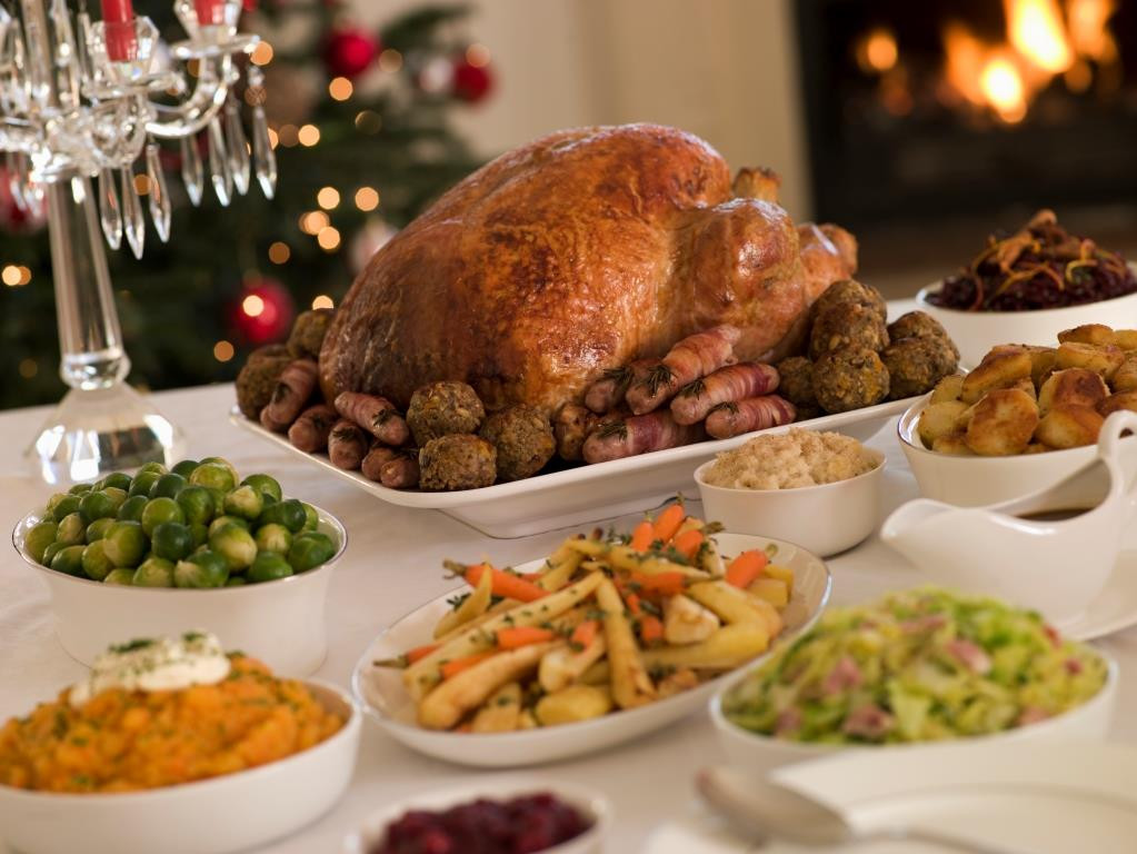 Traditional British Christmas Dinner  Consumers wrongly believe refreezing cooked meat is unsafe
