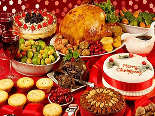 Traditional British Christmas Dinner  British Christmas Dinner My Roots are Showing
