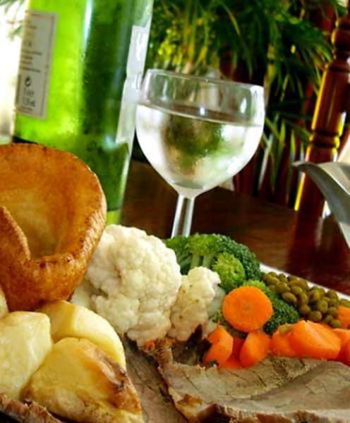 Traditional British Christmas Dinner  Classic English Christmas dinner