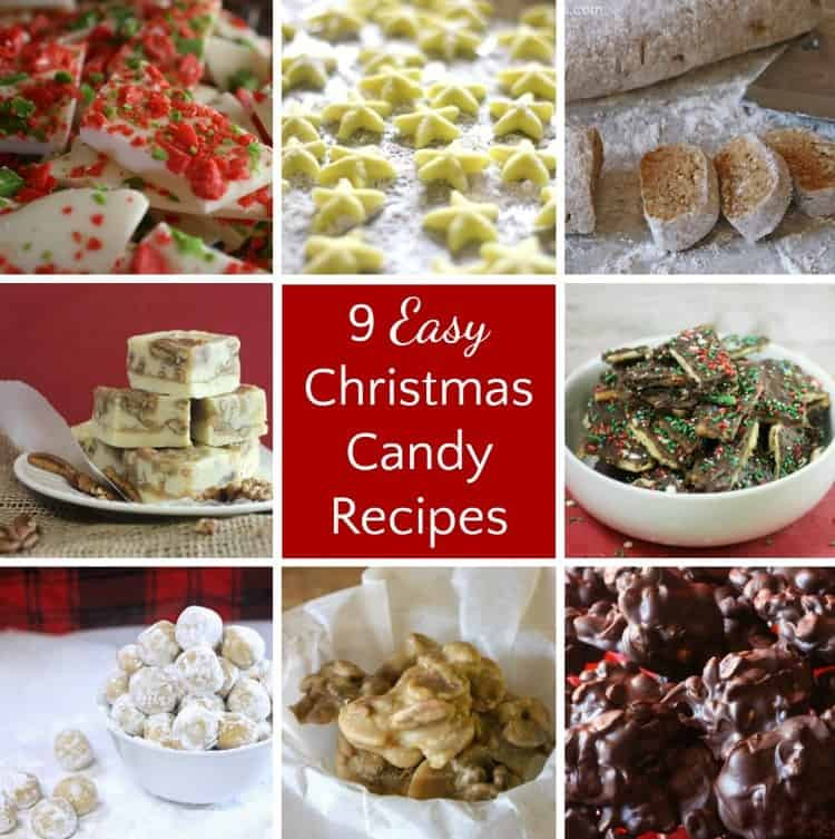 Traditional Christmas Candy Recipes  9 Easy Last Minute Christmas Candy Recipes Rose Bakes