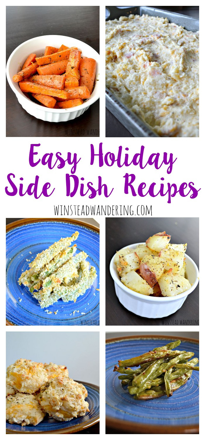 Traditional Christmas Side Dishes  Easy Holiday Side Dish Recipes
