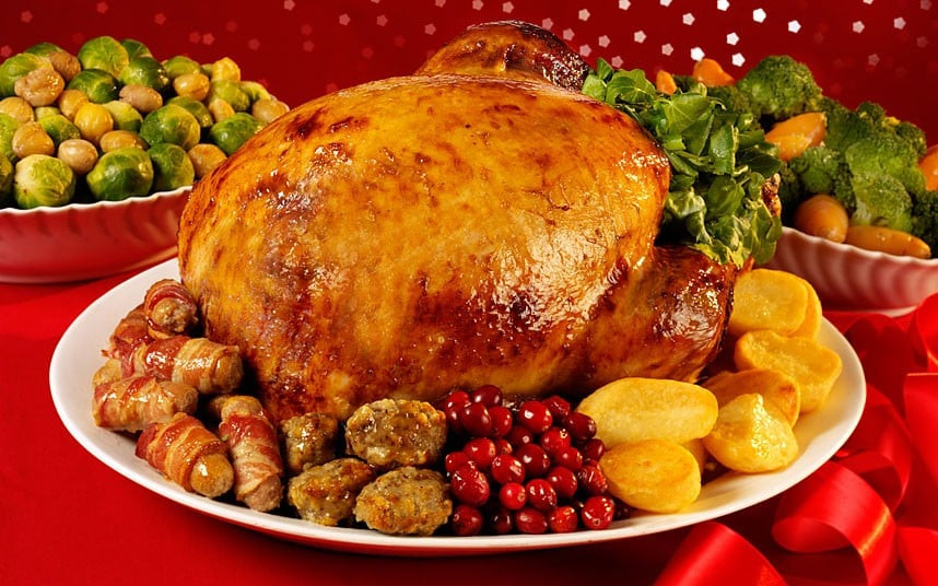 Traditional English Christmas Dinner  Why Christmas dinner will be 5pc cheaper this year Telegraph