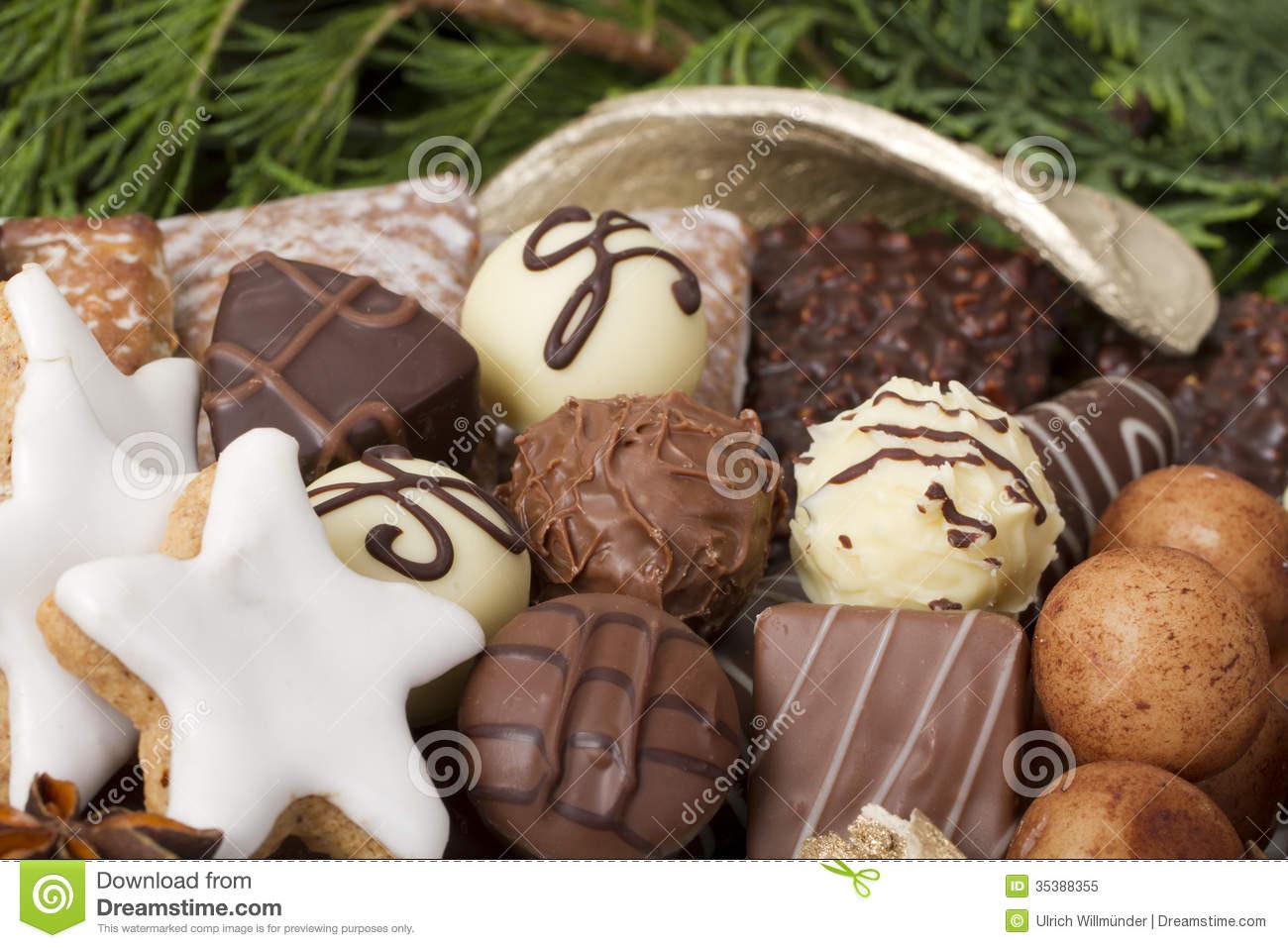 Traditional German Christmas Cookies  Traditional German Christmas Cookies Royalty Free Stock