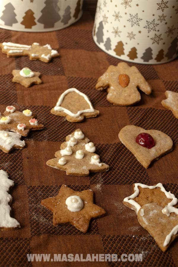 Traditional German Christmas Cookies  Classic Lebkuchen Recipe German Christmas Cookies [EASY ]