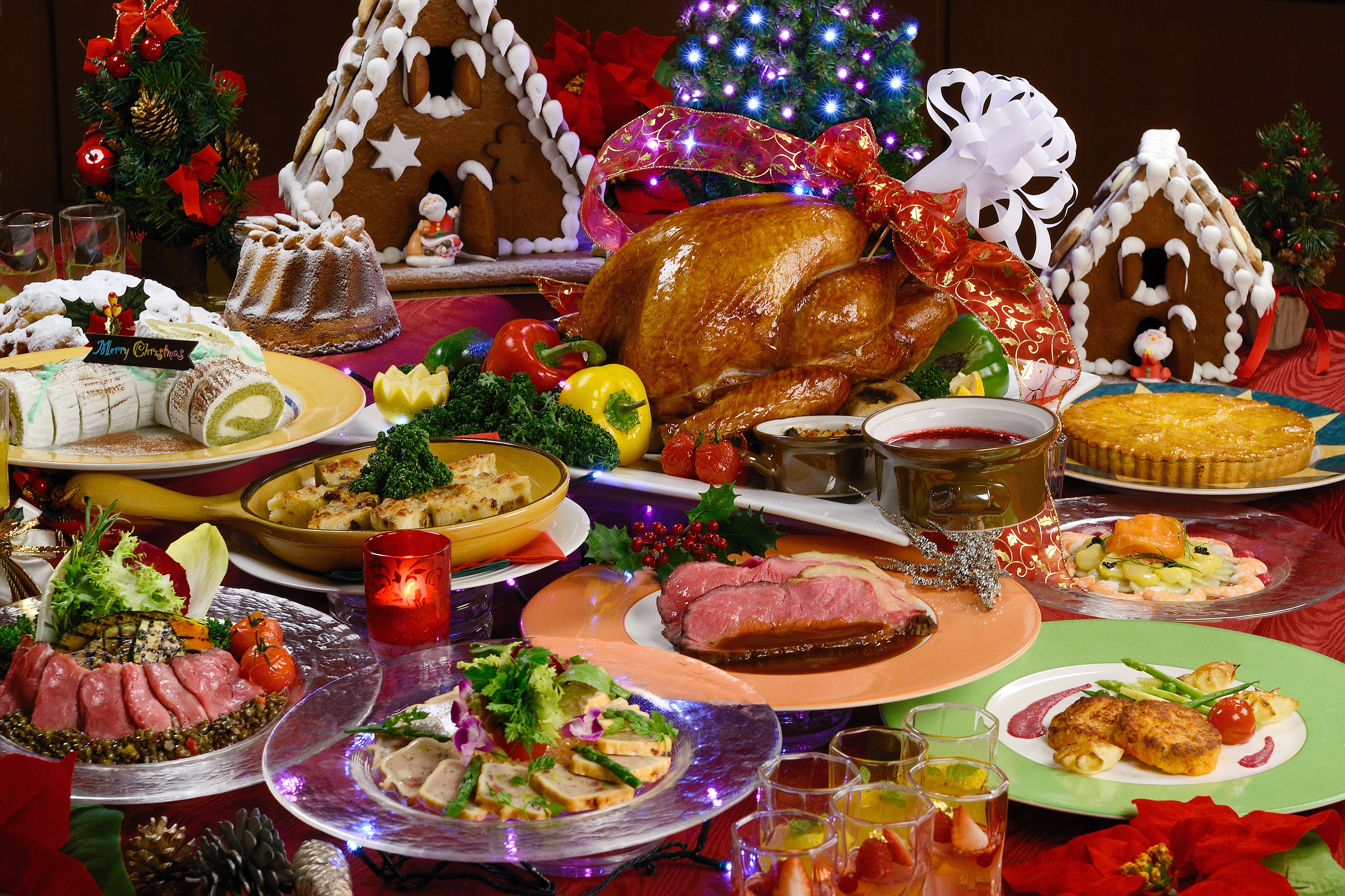 Traditional Italian Christmas Dinner  Dishing up a delicious Kansai Christmas