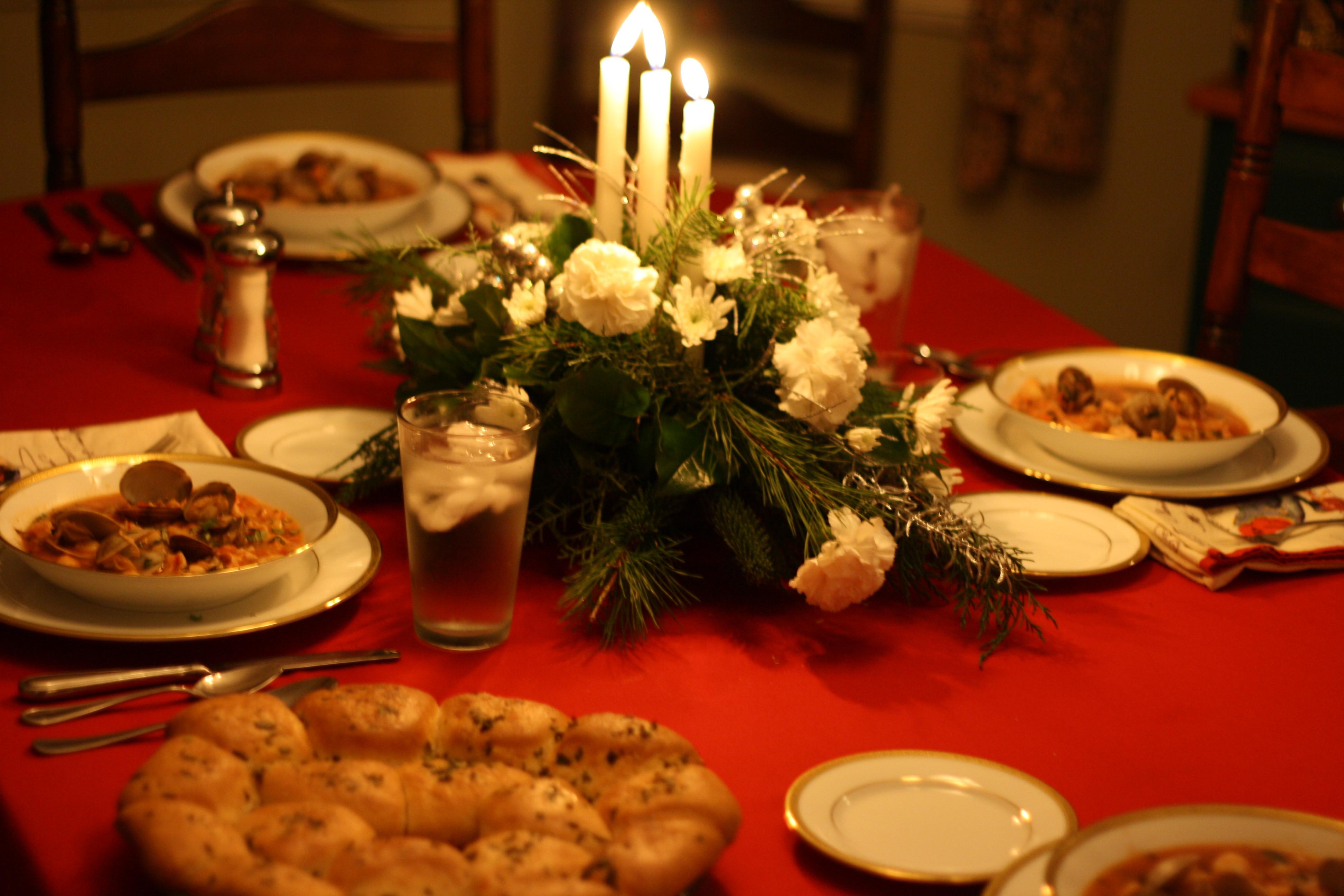 Traditional Italian Christmas Dinner  Christmas Eve 2009 – Bouillabaisse