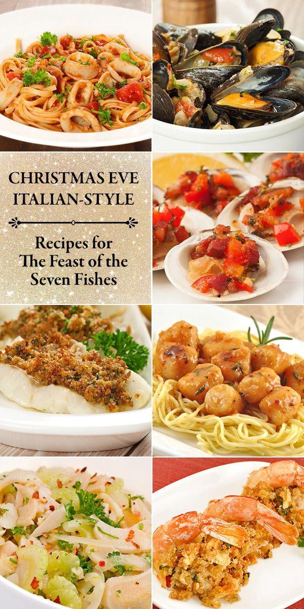 Traditional Italian Christmas Dinner  100 Italian Fish Recipes on Pinterest