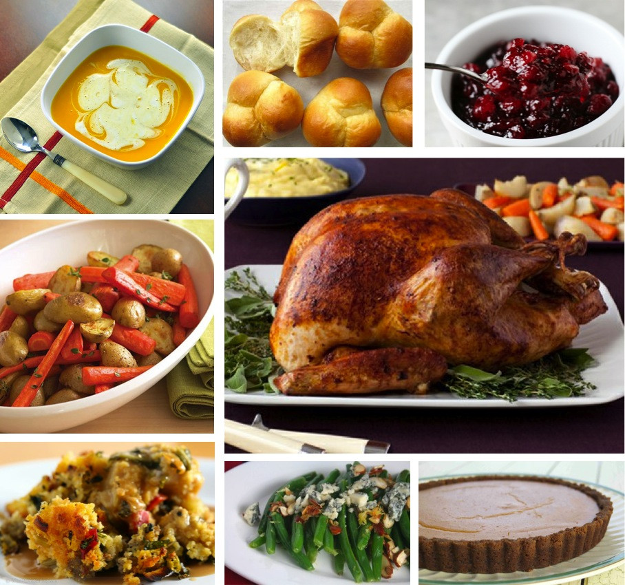 Traditional Thanksgiving Dinner Menu  Beginner s Thanksgiving Menu Baked by Joanna