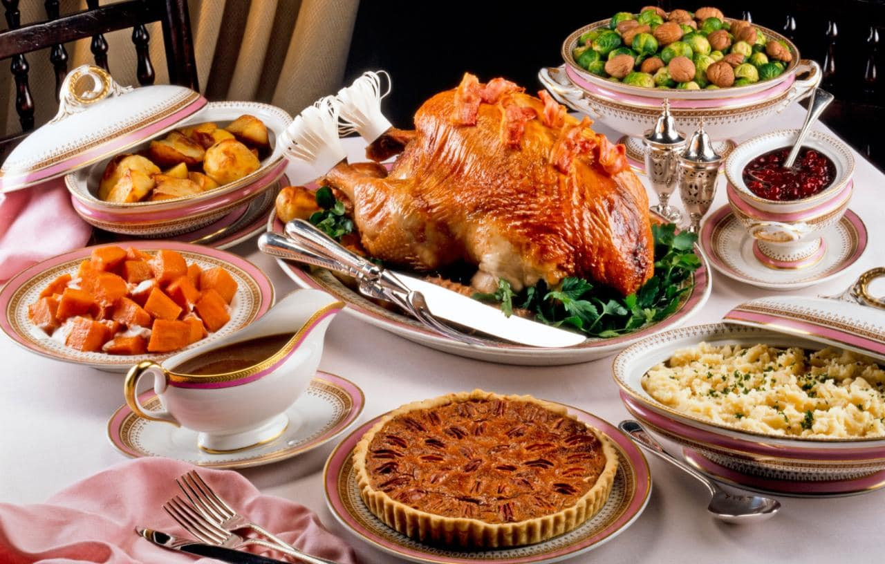 Traditional Thanksgiving Dinner Menu  Thanksgiving the traditional dinner menu and where to