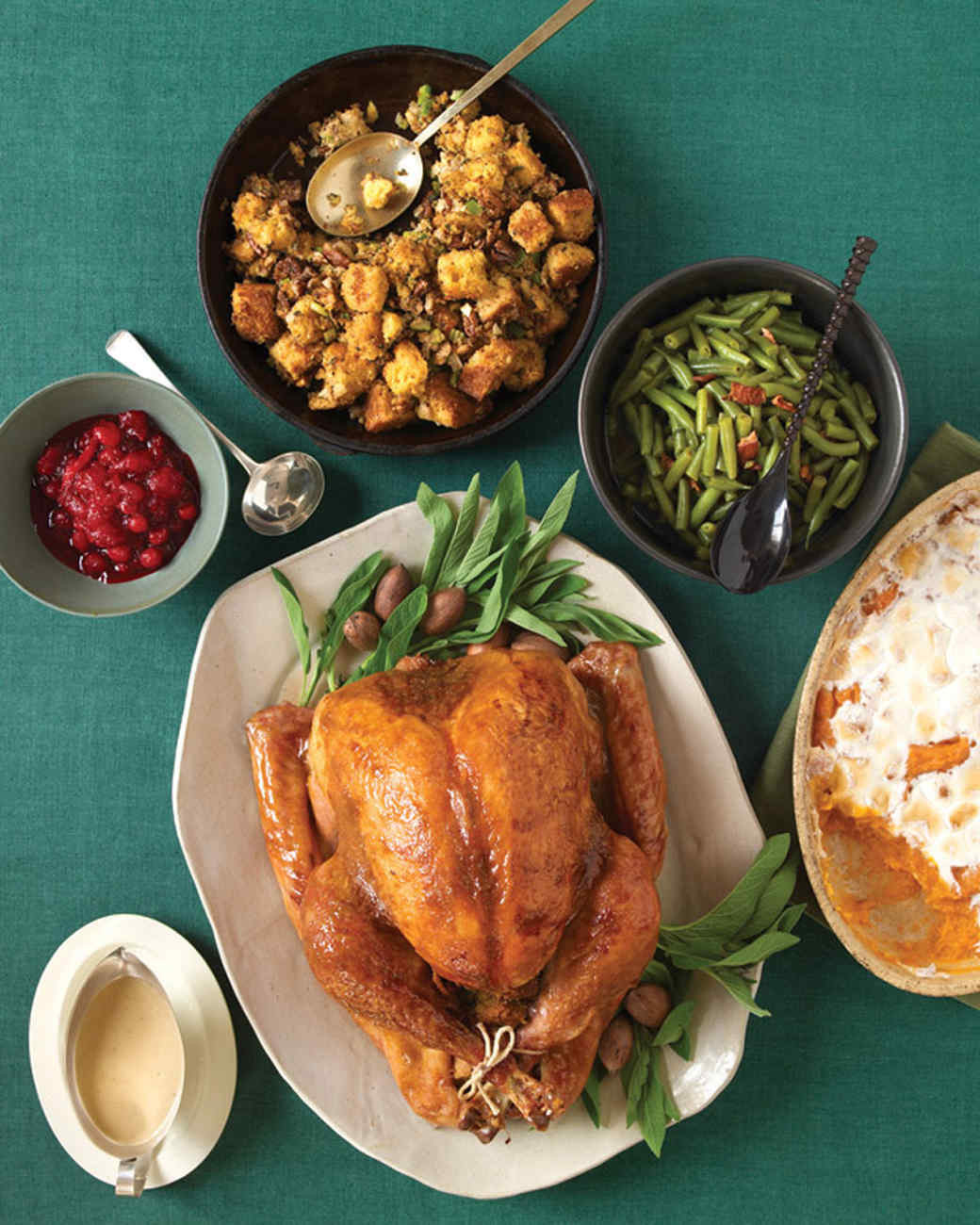 Traditional Thanksgiving Dinner Menu  Easy Thanksgiving Menus